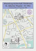 Titelseite Pfarrbrief September 2008 (Gründungs-Pfarrbrief)