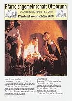 Titelseite Pfarrbrief Weihnachten 2008