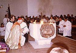 Weihe der Kirche St. Albertus Magnus