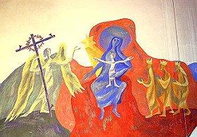 Geburts-Bild in der Kapelle von St. Albertus Magnus