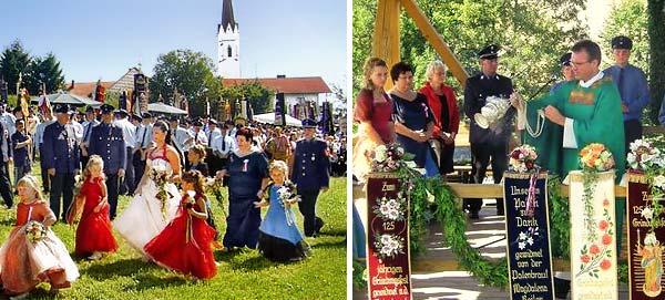 Pfarrei und Vereinsleben Hand in Hand