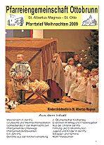 Titelseite Pfarrbrief Weihnachten 2009