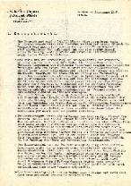 Originalexemplare der Berichte