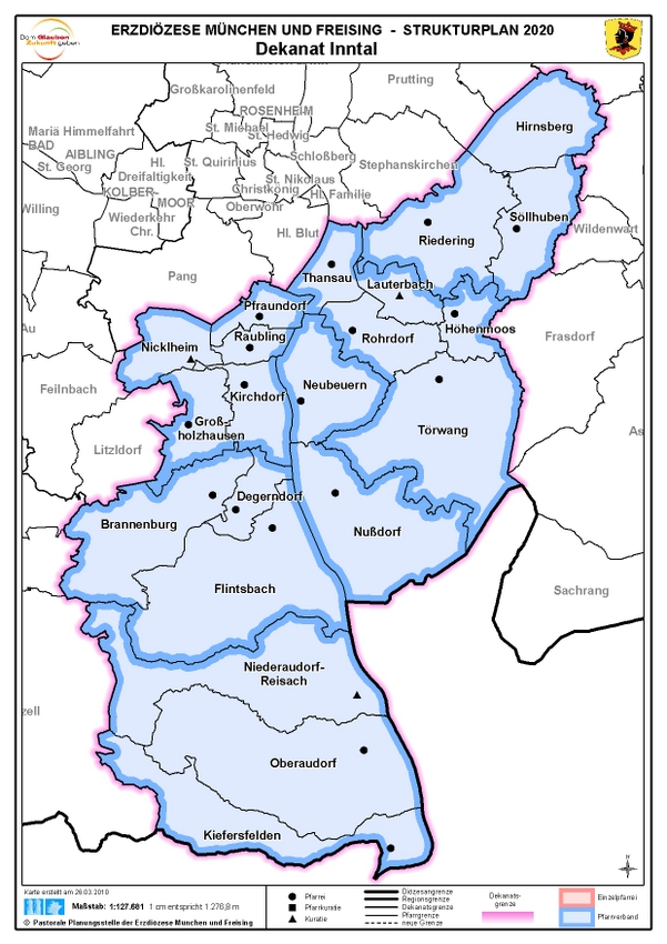 Karte Dekanat Inntal