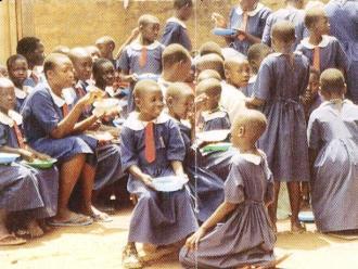 Uganda Mittagessen