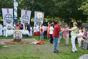 Ökumenischer Gottesdienst in Ottobrunn am 26.07.2010