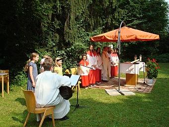 Pfarrfest in St. Otto am 04.07.2010
