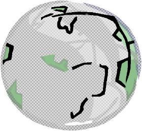 Weltkugel Eine Welt Kreis