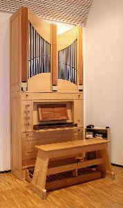 Die Schingnitz - Orgel in unserer Kapelle