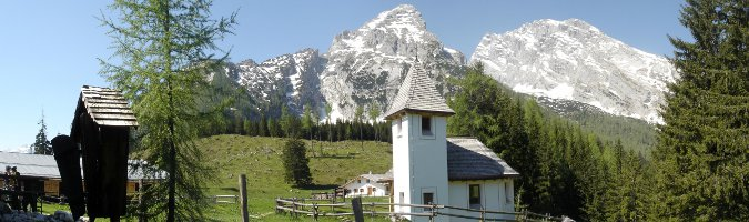 Kapelle mit Watzmannfrau in Kühroint