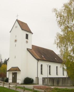 Kirche St. Theresia Nicklheim - Aussenansicht