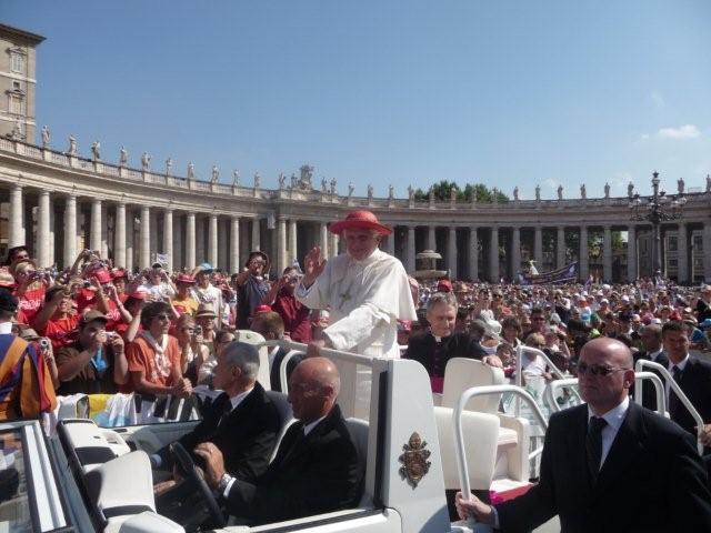 Papst Benedikt XVI. (von Barbara Faltermaier)