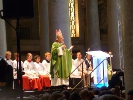 Abschlussgottesdienst mit Erzbischof Marx in St. Paul vor den Mauern