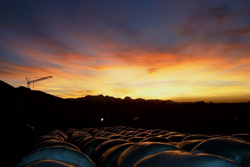 Sonnenuntergang bei Umrathshausen