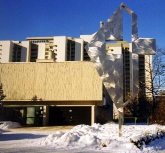 Ansicht des Lukas-Kreuzes im Winter (1)