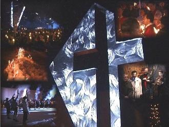 Collage über das Lukas-Kreuz (1)