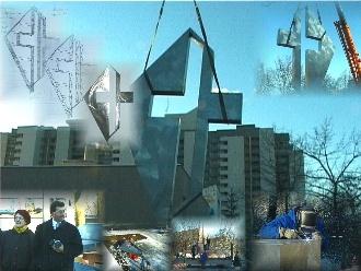 Collage über das Lukas-Kreuz (2)