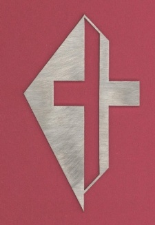 Das Lukas-Kreuz mit Hintergrund