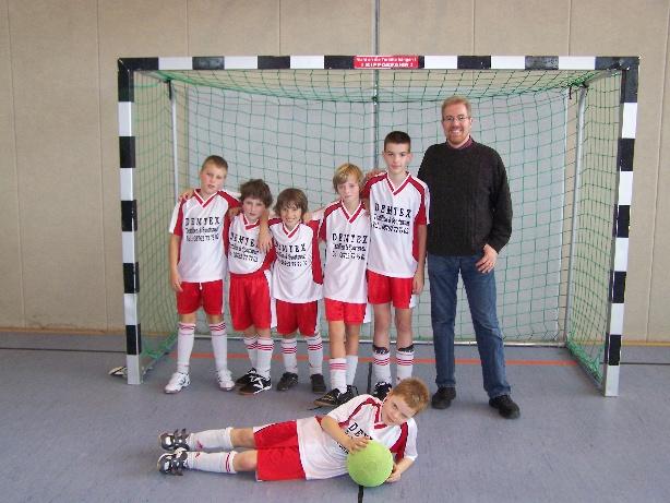 Mannschaft beim Mini-Turnier 2010 in Hohenpolding