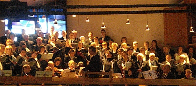 Chor beim Patrozinium 2009