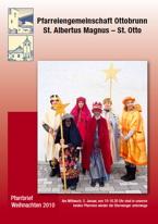 Titelseite Pfarrbrief Weihnachten 2010