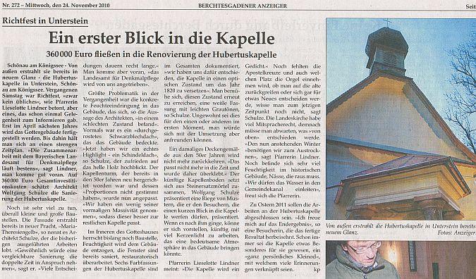 BGD-Anzeiger-24-11-2010_Hubertuskapelle
