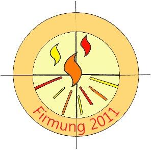 Logo Firmung 2011 - farbig