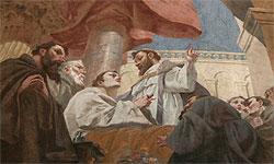 St. Ägidius, Deckenfresko