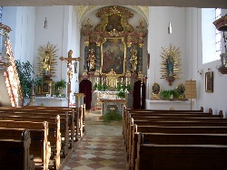 Kirche St. Petrus Grammelkam innen
