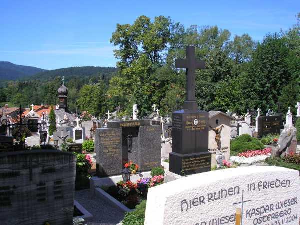 Gräber am Alten Friedhof