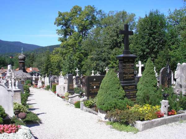 Gräber am Allten Friedhof