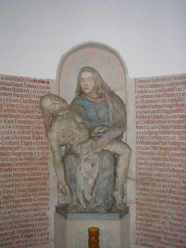 Pietà in Kapelle