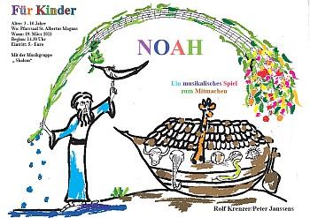 """Einladung für Kindertheater """"Arche Noah"""""""