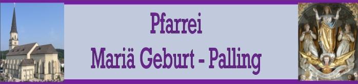 Pfarrei Palling Kopfzeile