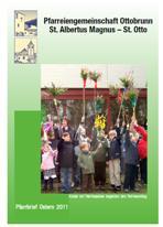 Titelseite Pfarrbrief Ostern 2011