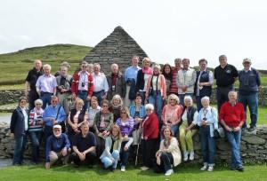 Gruppenphoto der Irlandreise