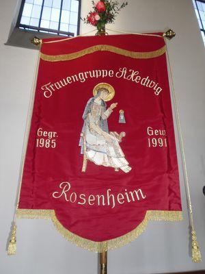 Frauengruppe Fahne