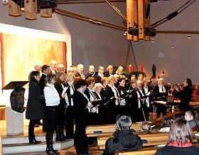 Kirchenchor St. albertus Magnus bei Benefizkonzert am 27.11.2011