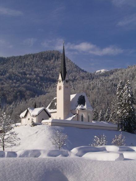 St. Leonhard im Winter (Ludwig Hörth)