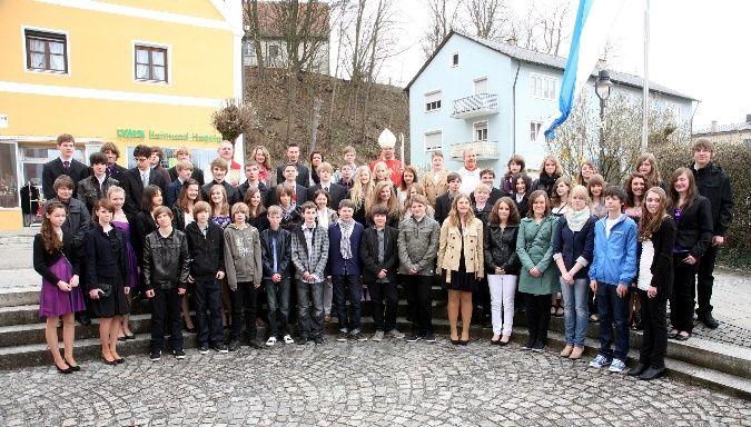 Firmlinge Wartenberg 2011
