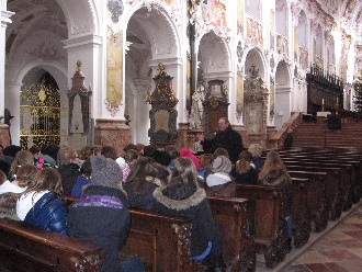 Besuch bei Weihbischof 4.2.2012