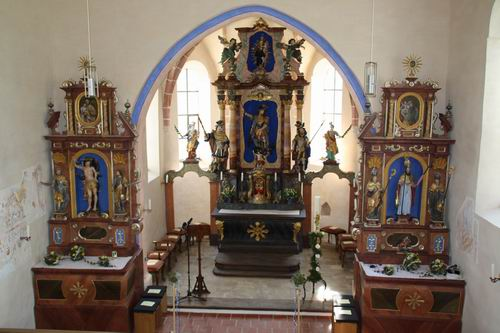 Altäre Kirche Berg