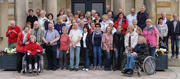 Gruppenbild Partnerchöre in Bayreuth