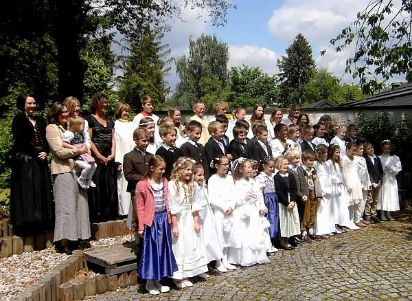 Erstkommunion 2012 in St. Albertus Magnus