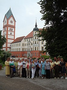 Die Seniorengruppe in Scheyern