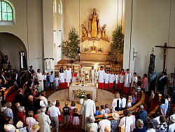 Festgottesdienst 75 Jahre St.Oto