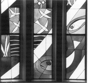 Kirchenfenster 2, St. Konrad