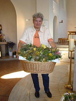 Kräuter zu Mariä Himmelfahrt in St. Otto