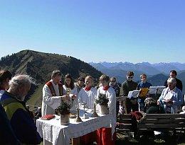 Bergmesse 2012 am Wallberg