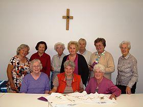 Sammelteam für Caritas Herbstsammlung 2012